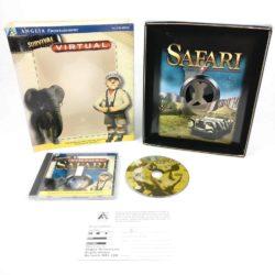 Virtual Safari (PC Big Box, 1996, Tele Virtual / Anglia Entertainment)