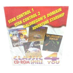 Classic CD-Rom Spiele 4 You - Vol 13 (PC Big Box, NEW, Star Control 1+2 etc.)