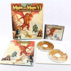 Might and Magic VI: The Mandate of Heaven (PC Big Box, 1998, New World Co / 3DO)