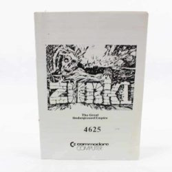 Zork: The Great Underground Empire (C64 manual - Dansk)