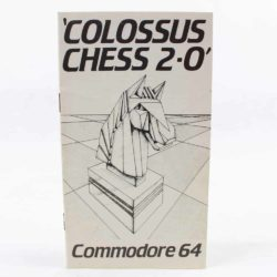 Colossus Chess 2∙0 (Commodore 64 manual)