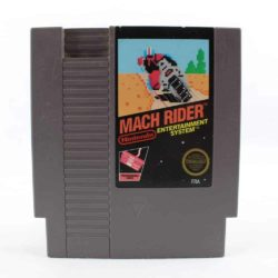 Mach Rider (Nintendo NES, PAL-B, Blackbox)