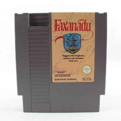 Faxanadu (Nintendo NES, PAL-B, SCN)