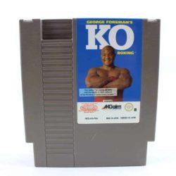 George Foreman's KO Boxing (Nintendo NES, PAL-B)