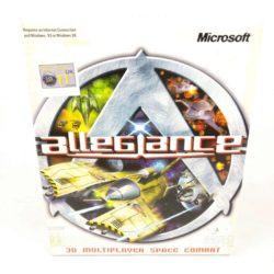 Alleglance (PC Big Box, 2000, Microsoft, Mangler CD)