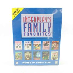 Interplay's Family Favorites (PC Big Box, 1996, Sealed)