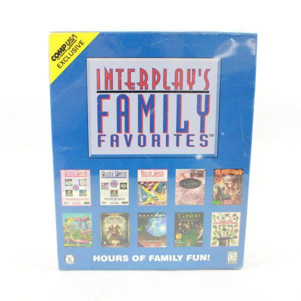 Interplay's Family Favorites (PC Big Box, 1996, Sealed)