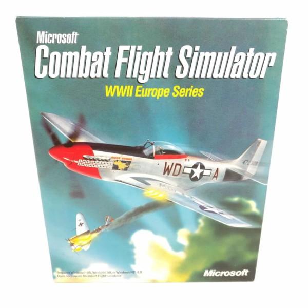 Microsoft Combat Flight Simulator: WWII Europe Series (PC Big Box, Mangler CD)