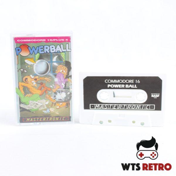 Powerball (Commodore 16 / Plus 4 - Cassette)