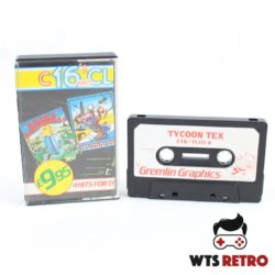C16 Classics - 4 Games (C16/Plus 4) Dork's Dilemma/Tycoon Tex