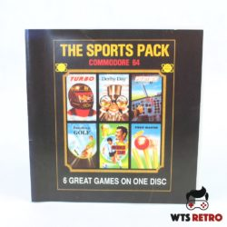 The Sports Pack (C64 spil omslag - Disk)