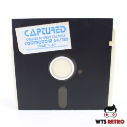 Captured (Commodore 64 - Disk)