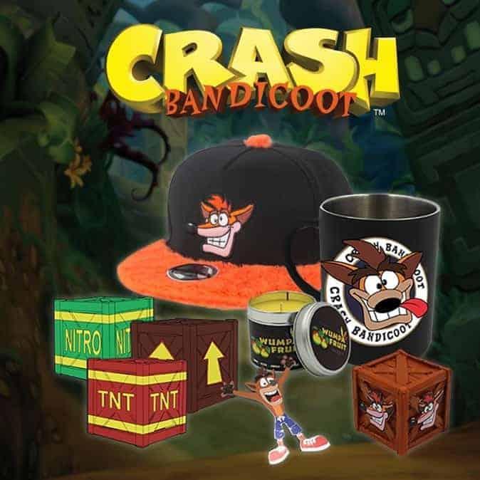 Crash Bandicoot Merchandise