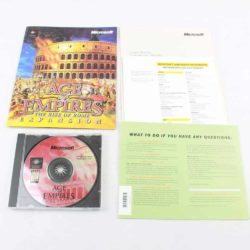 Age of Empires: The Rise of Rome (PC, CD + Manual)