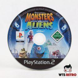 Monsters vs Aliens (Playstation 2 / PS2)