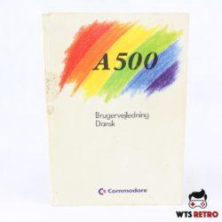 Brugervejledning til Amiga 500 - A500 (Dansk udgave)