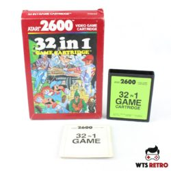 32 in 1 Game Cartridge (Atari 2600 - Boxed)