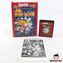 Jr. Pac-Man (Atari 2600 - Boxed)