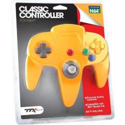 TTX Classic Nintendo 64 Controller - Gul
