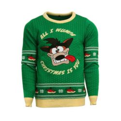 Crash Bandicoot Christmas Jumper