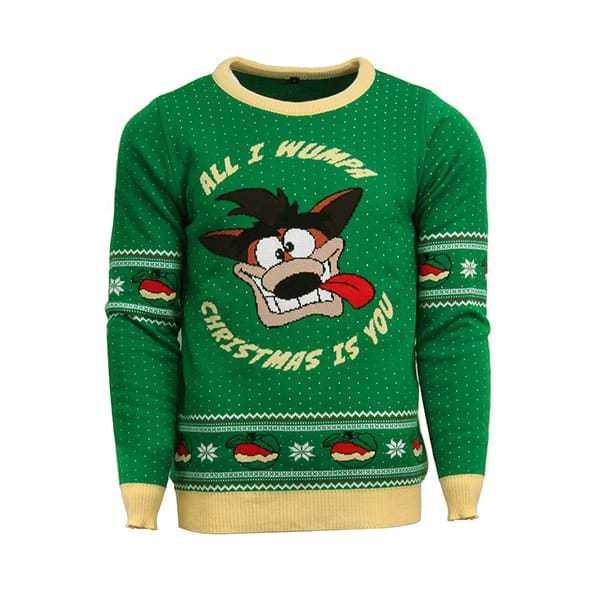 Crash Bandicoot Christmas Jumper