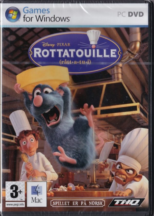 Rottatouille (PC - Norsk version - Nyt/sealed)