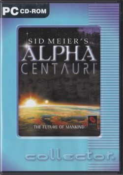 Sid Meier's Alpha Centauri (PC - Collector.)