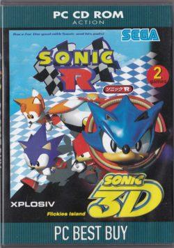 Sonic R + Sonic 3D (PC Best Buy)
