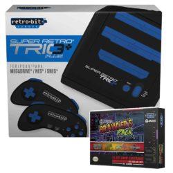 Retro-Bit Super Retro Trio+ HD inkl. Jaleco Brawlers Pack