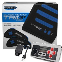 Retro-Bit Super Retro Trio+ HD inkl. 8bitdo N30 Bluetooth Controller & 8bitdo NES Receiver