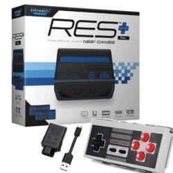 Retro-Bit RES+ HD inkl. 8bitdo N30 Bluetooth Controller & 8bitdo NES Receiver