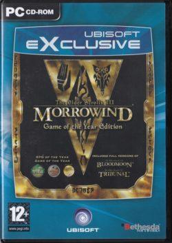 The Elder Scrolls III: Morrowind (GOTY - PC - Ubisoft eXeclusive)