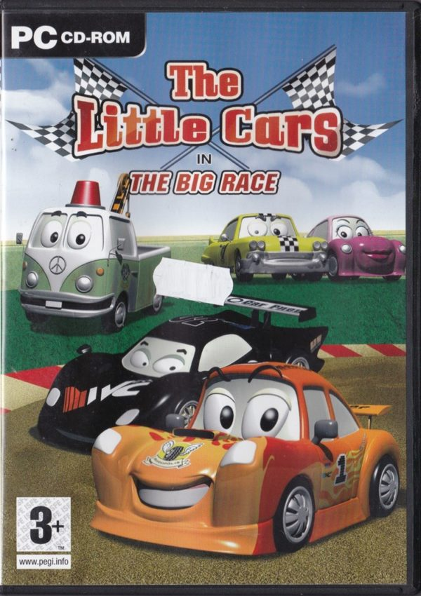 The Little Cars in The Big Race (PC)