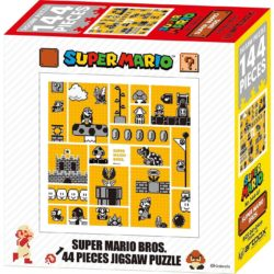 Super Mario Bros - 30th Anniversary 144 Pieces Jigsaw Puzzle