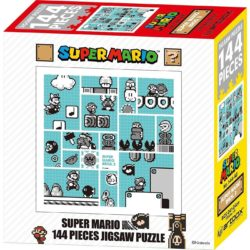 Super Mario Bros 3 - 30th Anniversary 144 Pieces Jigsaw Puzzle