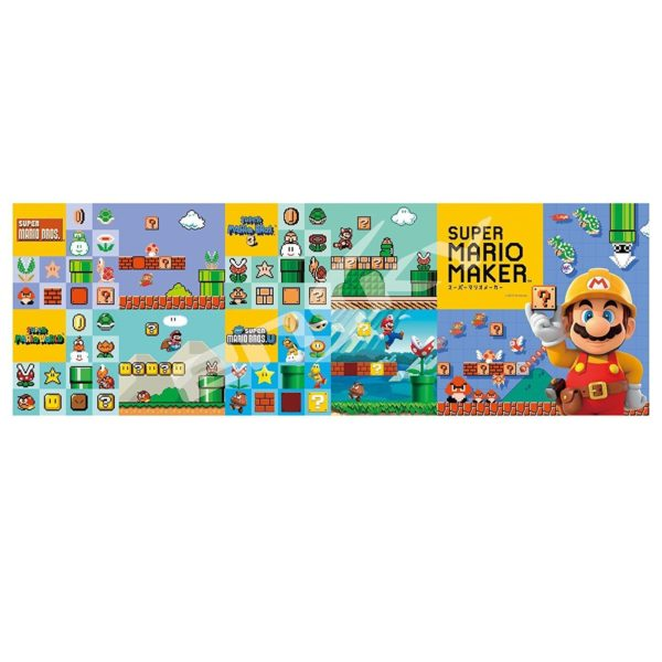 Super Mario Maker History Jigsaw Puzzle - 352 brikker
