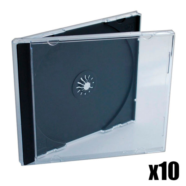 10x CD Jewelcase