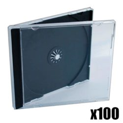 100x CD Jewelcase