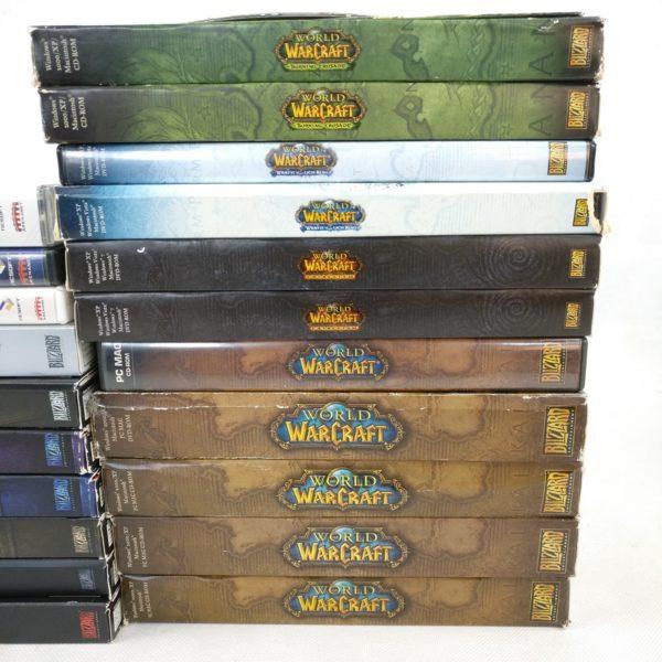 Blizzard PC Spil Lot (World of Warcraft, StarCraft, Diablo, Overwatch)