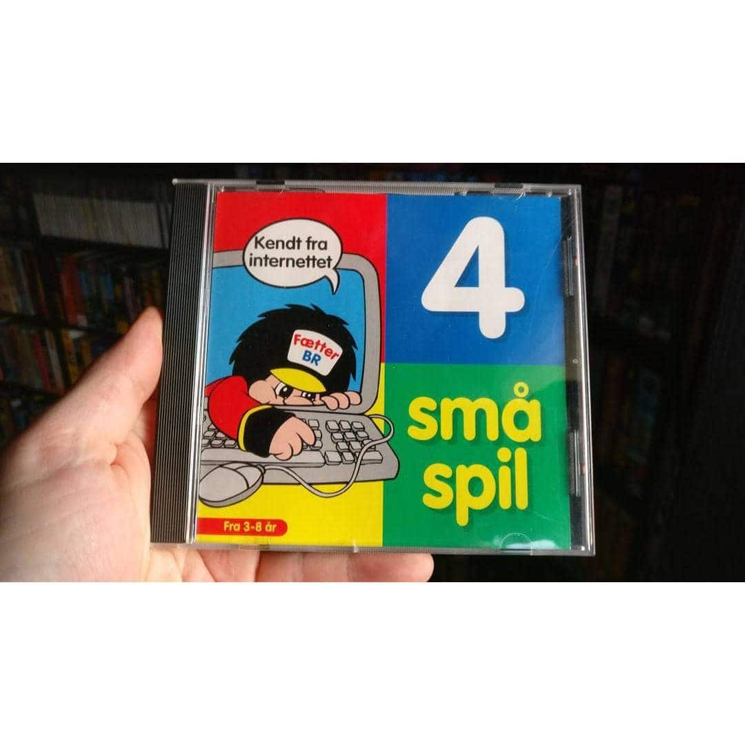 Fætter BR - 4 små spil (PC - 1997 - Dansk)