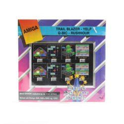 Trail Blazer - Yelp - Q-Bic - Rushhour (Amiga, Euro Power Pack)
