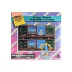 Jetman - Tomcat - Bugblaster - Defenda (Amiga, Euro Power Pack)
