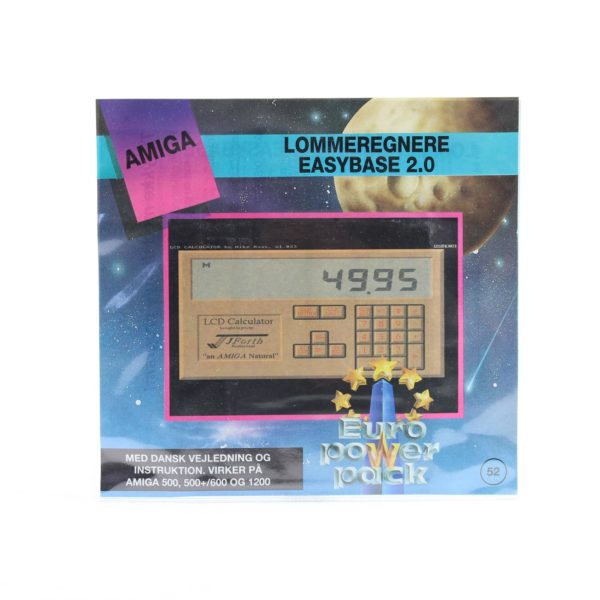 Lommeregnere - EasyBase 2.0 (Amiga, Euro Power Pack)