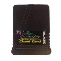 Blaze Race Master Cheat Card (PS1)