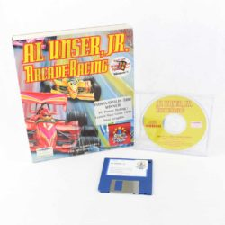 Al Unser, Jr. Arcade Racing (PC Big Box, 1995, Mindscape)