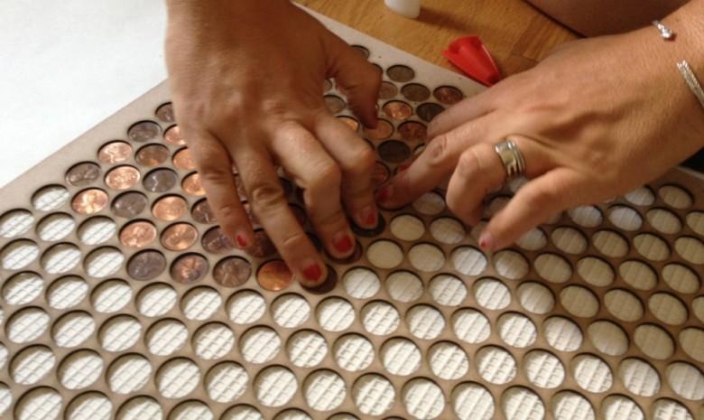 Penny floor template and materials list wisetradesmen penny floor template maxwellsz