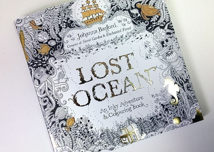 5. Lost Ocean: An Inky Adventure & Colouring Book