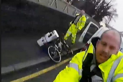 Cyclists are a menace on the road say Tradesmen
