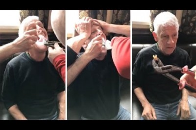 Builder Gets Tooth Yanked Out In Pub