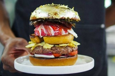 Patty Mad Chef Creates World's Most Expensive Burger